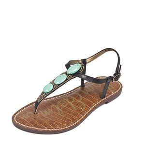 Sam Edelman Giordana Stone Thong Strappy Sandal 6